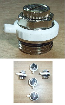 Automatic Air Bleed Valves